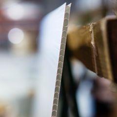 Corrugated Plastic Panels - Perfect Cut