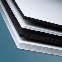 one side white one side black foamcore board